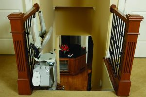 stair lift for handicap accessibility