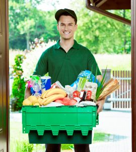 If you are having difficulty getting to the store food and medicine can be delivered to you.