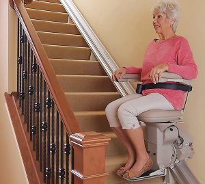 Seniors with stairs should install a stairlift to avoid devastating falls.
