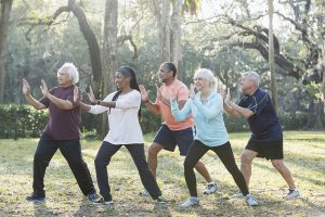 taking tai chi class is an awesome New Year's resolution for seniors.