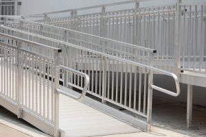 Wheelchair Metal Ramp - how to build a wheelchair ramp.