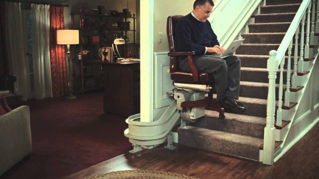 history of the stairlift