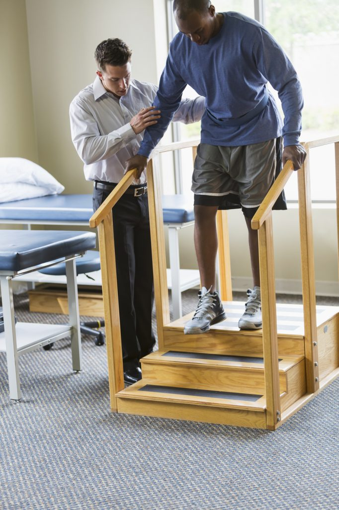 home stair lift for physical therapy patients