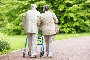 Senior Couple with Osteoporosis & Mobility Issues