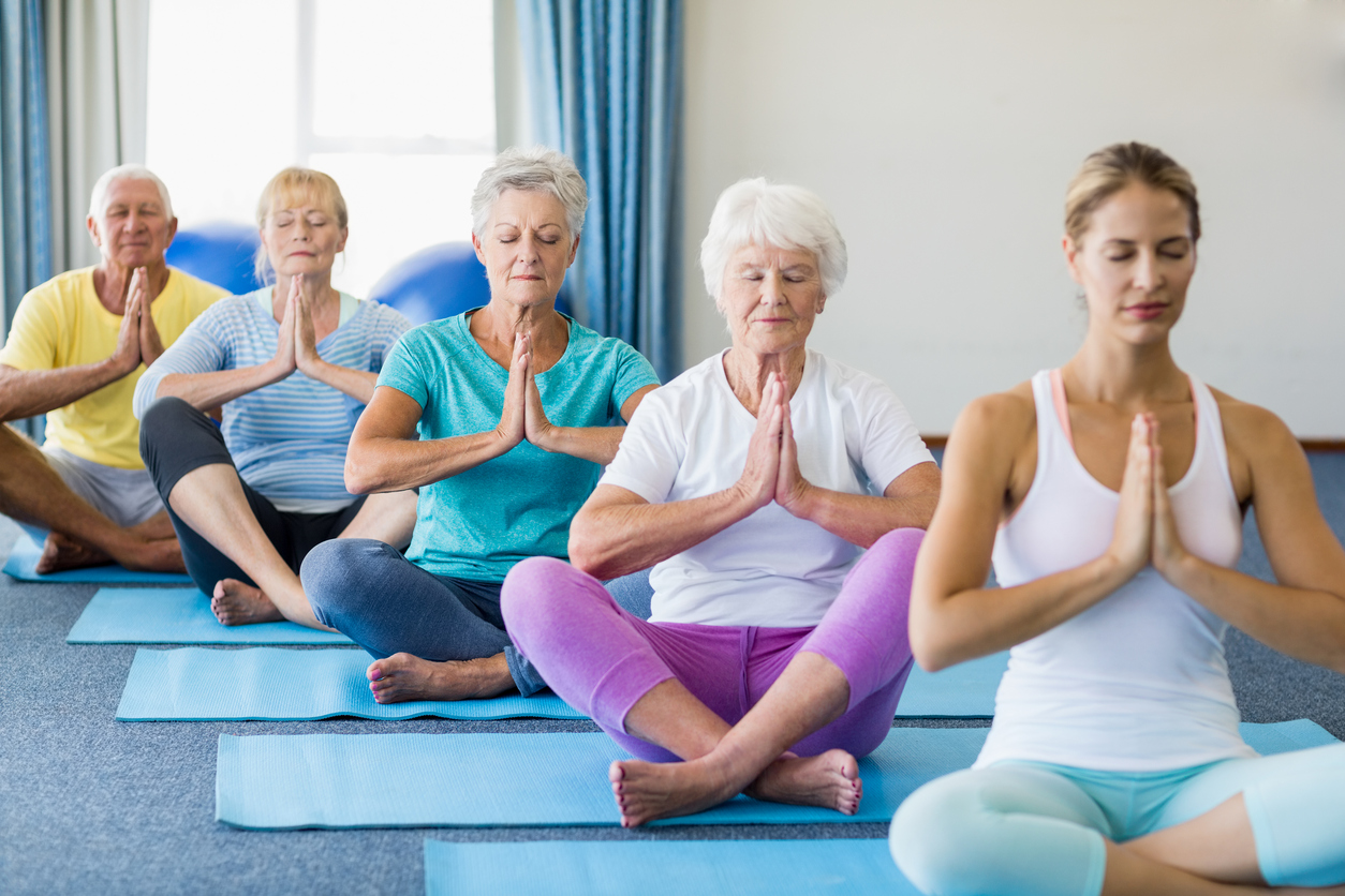 Yoga for the Elderly