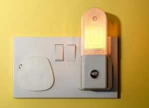 Adding nightlights in the bedroom and bathroom is another way to avoid falls.