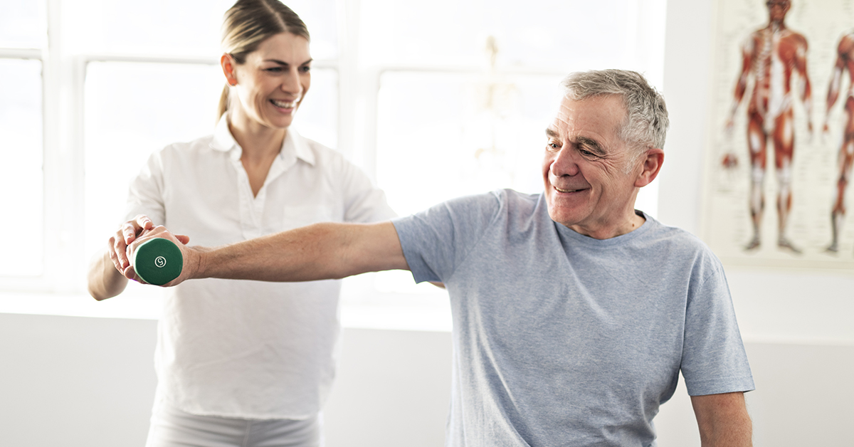 Physical therapy can be covered under Medicare part B