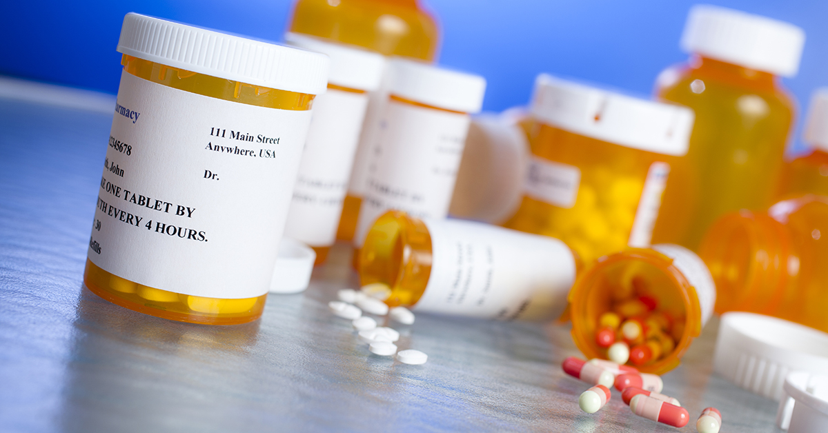 Prescriotion bottles Medicare Part D