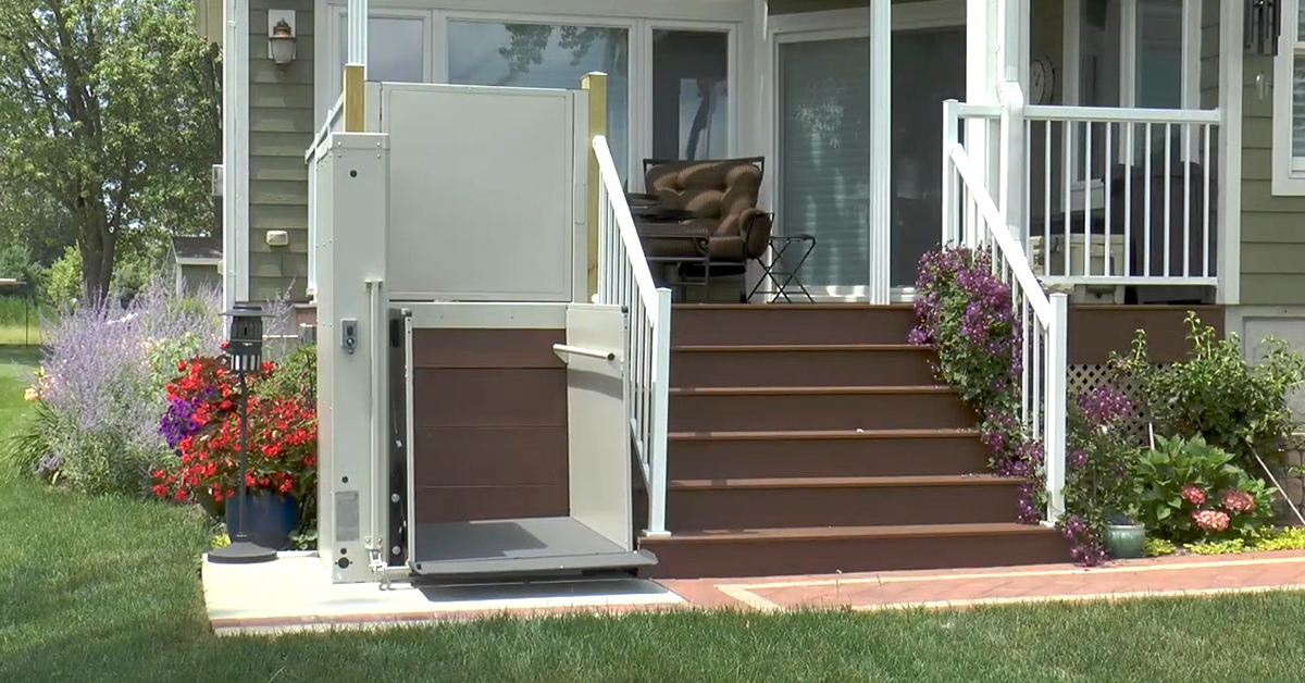 Bruno's VPL-3300 series wheelchair lift series