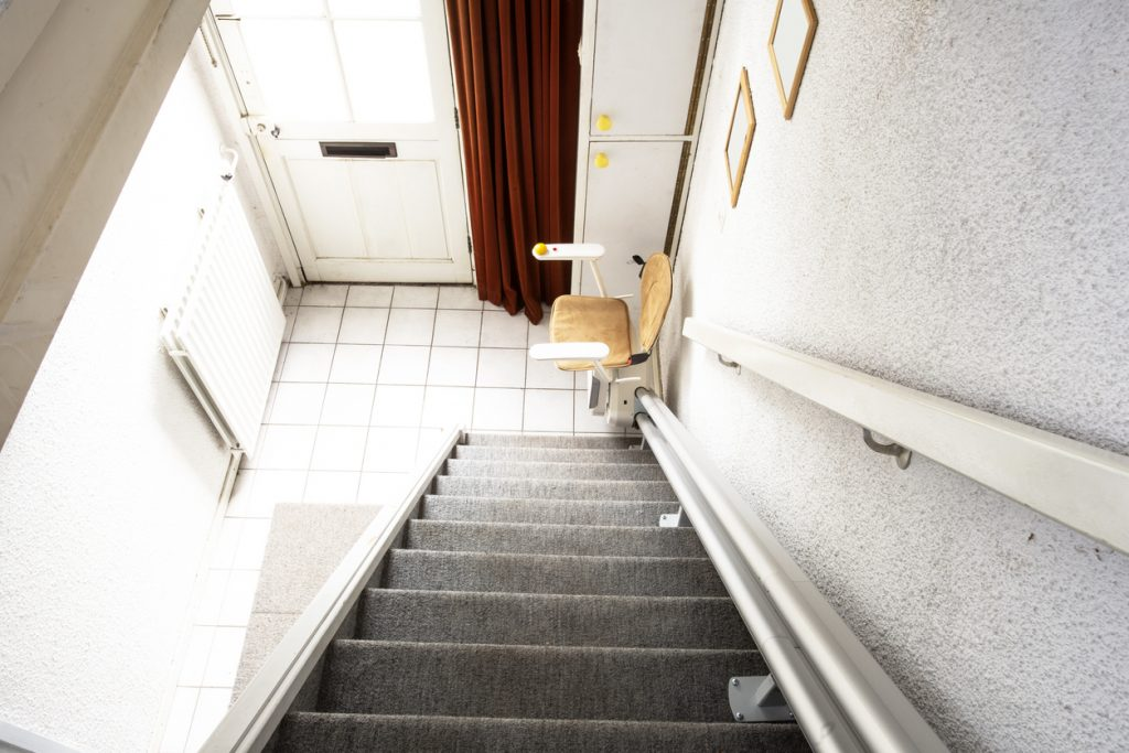an automatic stair lift in your home can help you regain independence